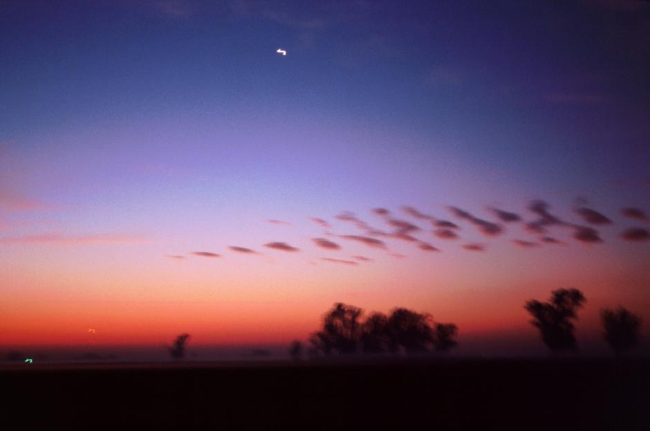 the fading sunrise large